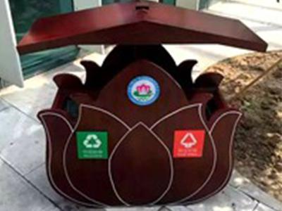 青海木质果皮箱