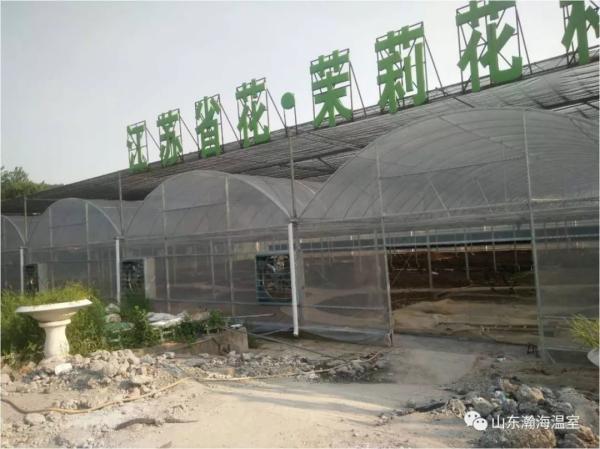 适宜花卉种植的大棚类型-瀚海温室