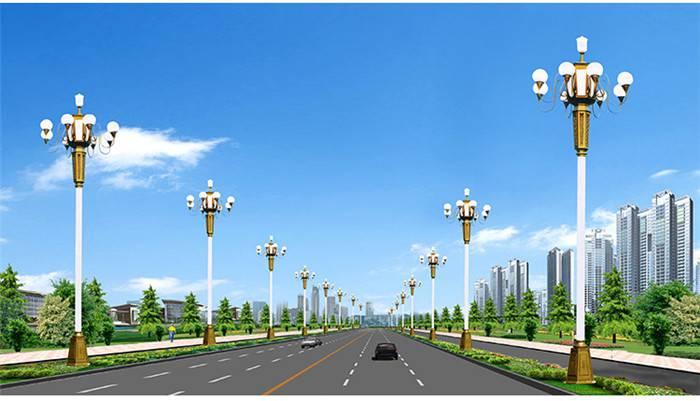 贺州广场中华灯