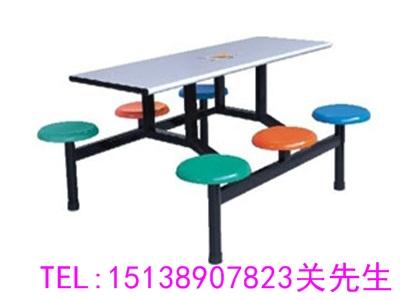 周口工厂食堂餐桌椅