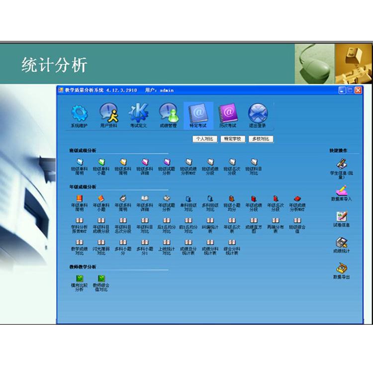 焉耆县网上阅卷系统概括