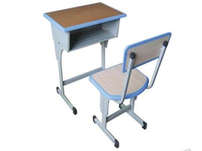 洛陽單人鋼木課桌椅