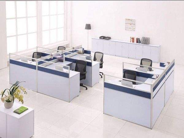泰安带隔断的办公桌