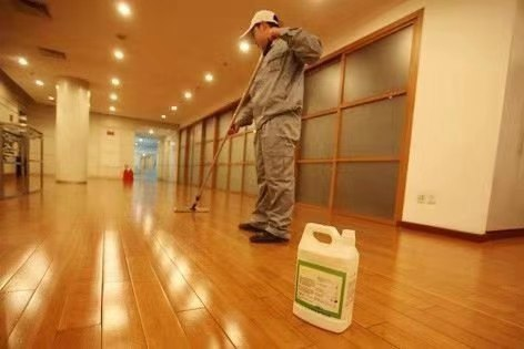木地板打蠟