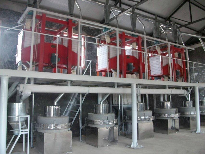 15吨石磨面粉机械设备