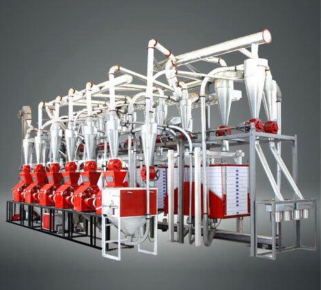 30吨面粉机械设备