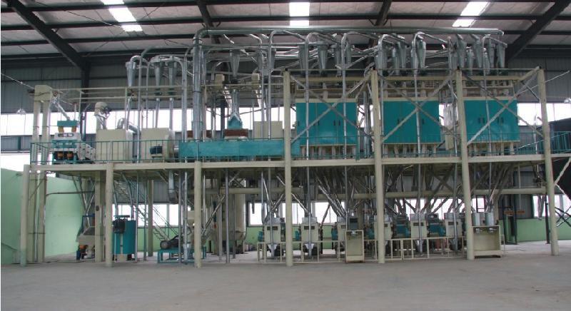 120吨玉米制粉械设备