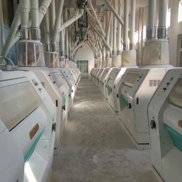 300吨面粉机械设备(二层)