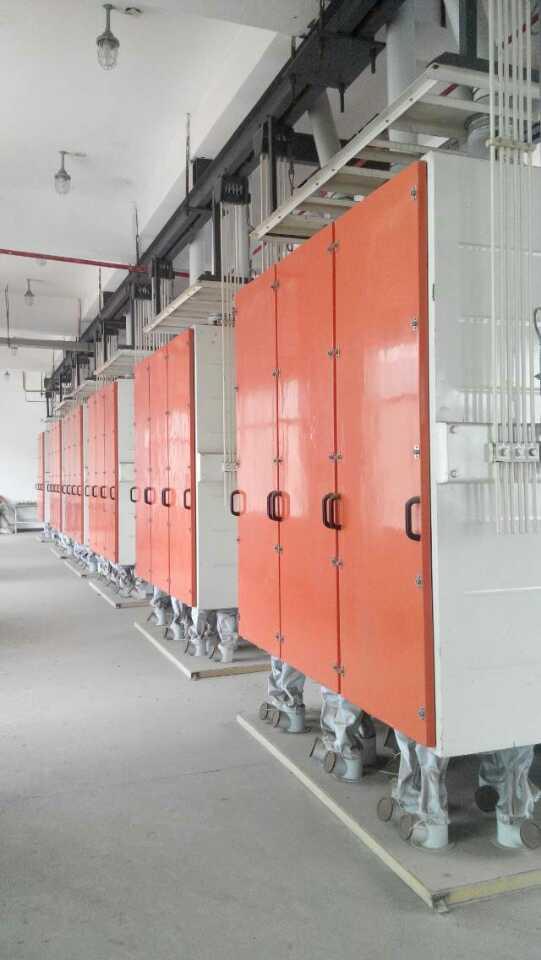 300吨面粉机械设备(四层)
