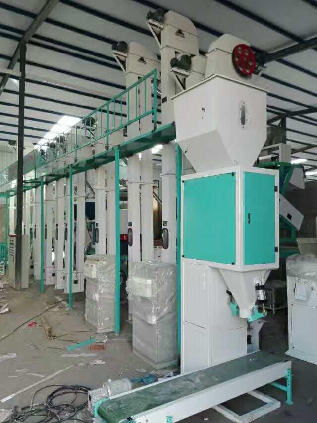 50吨小米加工机械设备