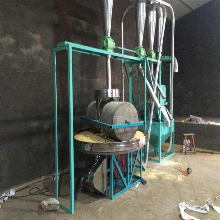 石碾碾米机械设备