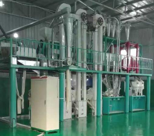 30吨玉米加工机械设备