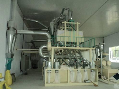 50吨玉米机械设备