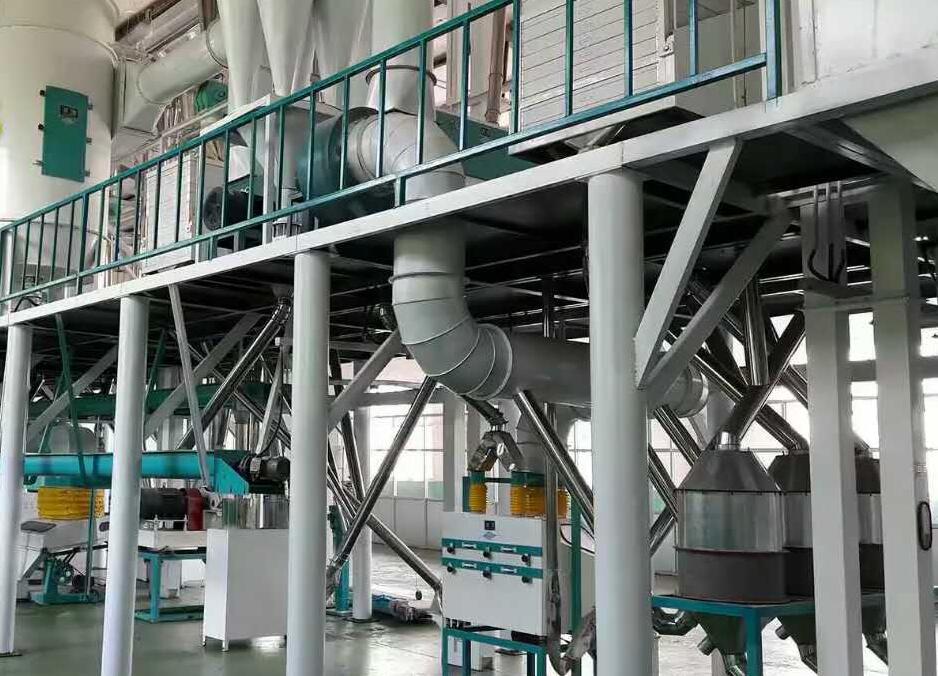 60吨玉米加工机械设备