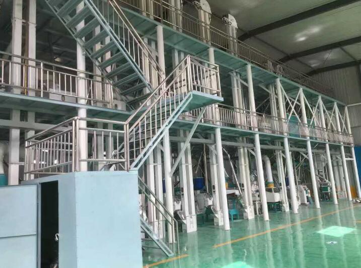 100吨玉米加工机械设备