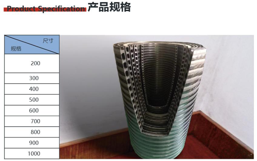 HDPE增强中空壁缠绕管