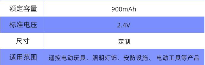 AA镍镉充电电池