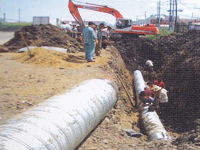 齐齐哈尔市开发区排水管线工程