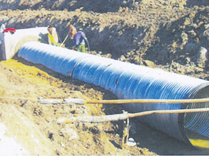 中俄石油管线护油工程