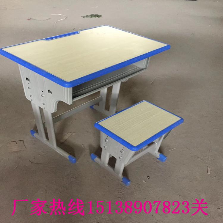 濮阳学生单人钢木课桌椅