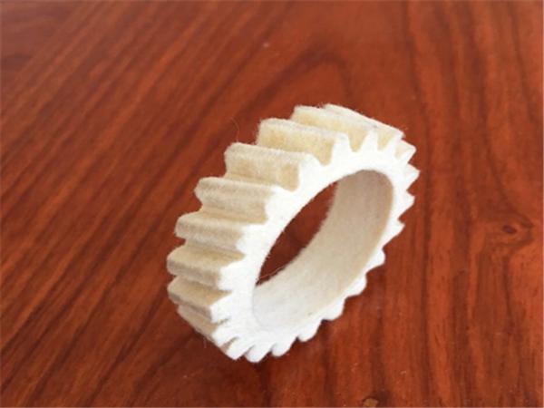 纯羊毛毡齿轮