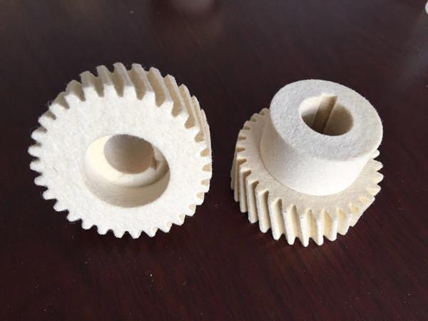 高密度羊毛毡齿轮