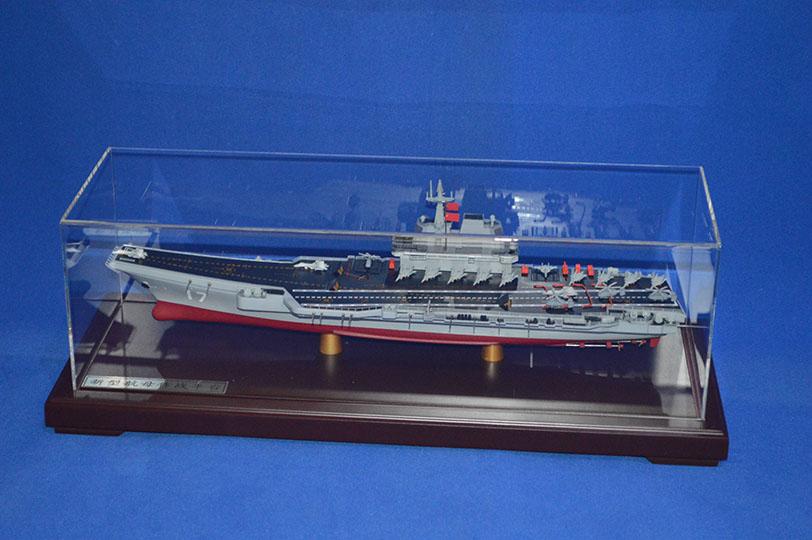 山东号航母模型
