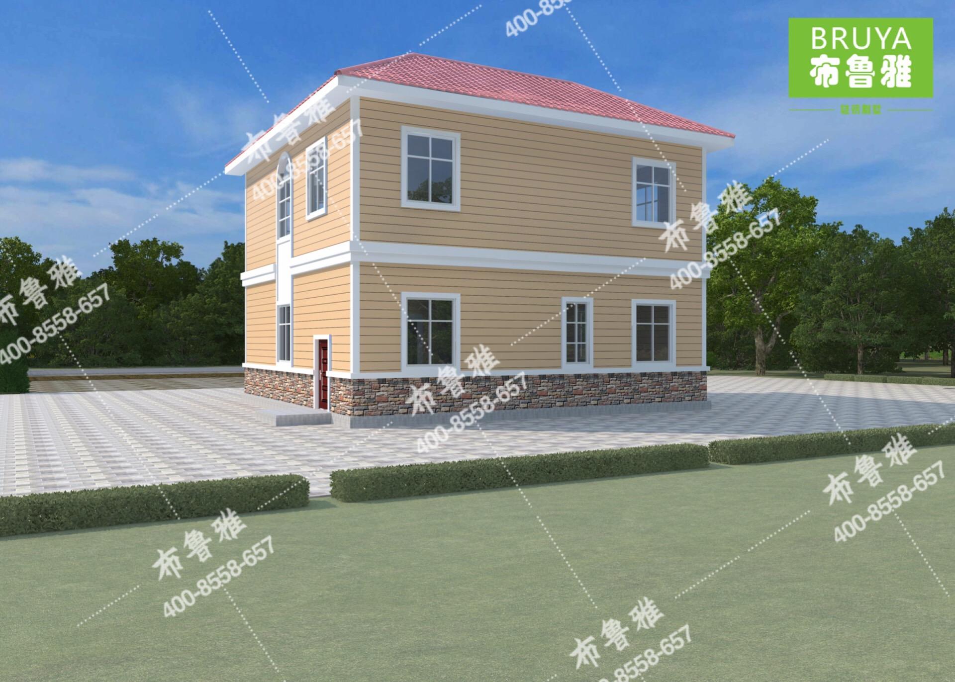广西布鲁雅轻钢别墅公司