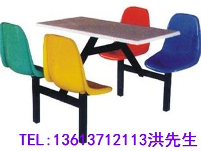 郑州八人连体餐桌凳