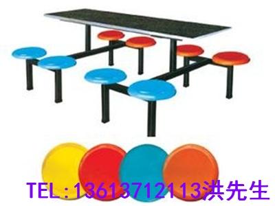周口员工食堂餐桌凳