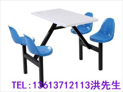 洛阳六人连体餐桌凳