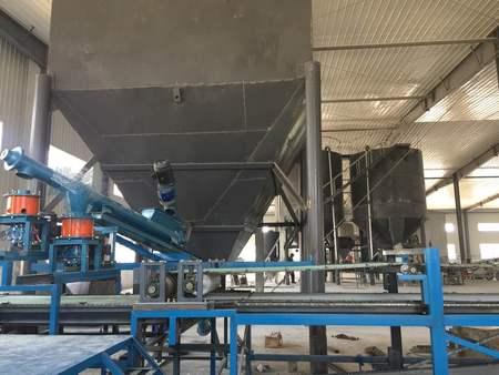 石膏天花板全自動生產線