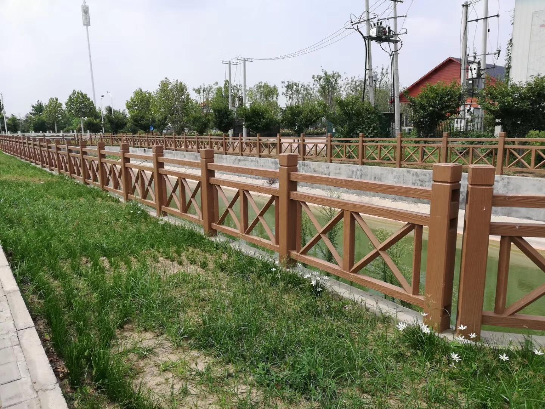 太原仿木护栏围栏