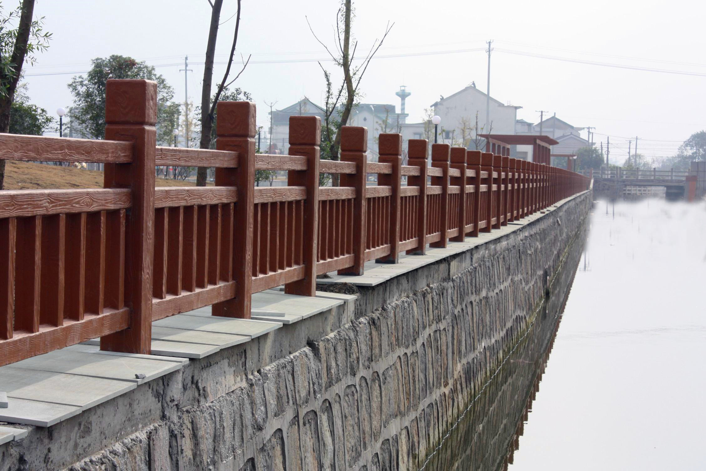 榆林仿木护栏围栏