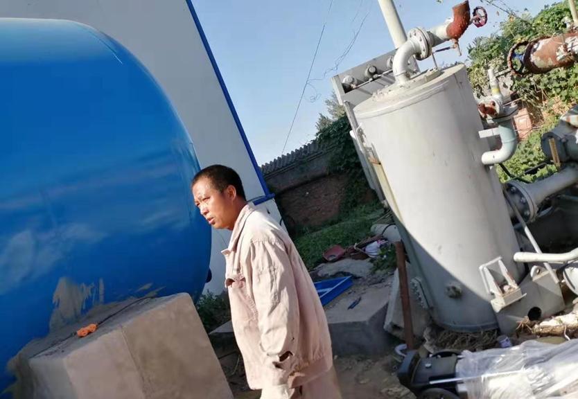 無塔供水設備安裝現場
