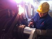 大型風機主軸磨損低溫堆焊修復案例