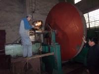 大型風機主軸磨損電弧噴涂修復方法案例