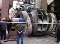 電廠鍋爐引風風機Y4-2×60-№32維修施工