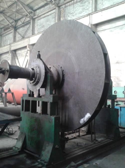 安鋼150t煉鋼轉爐一次風機振動故障風機維修