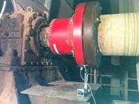 立磨循環風機磨損振動,風機現場動平衡修復