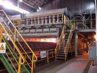 安陽鋼鐵公司500㎡燒結機環冷風機現場動平衡