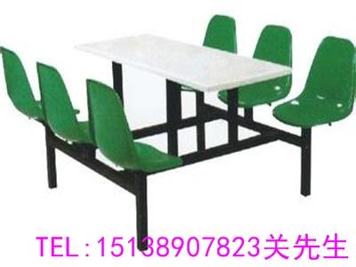 焦作六人长条餐桌凳