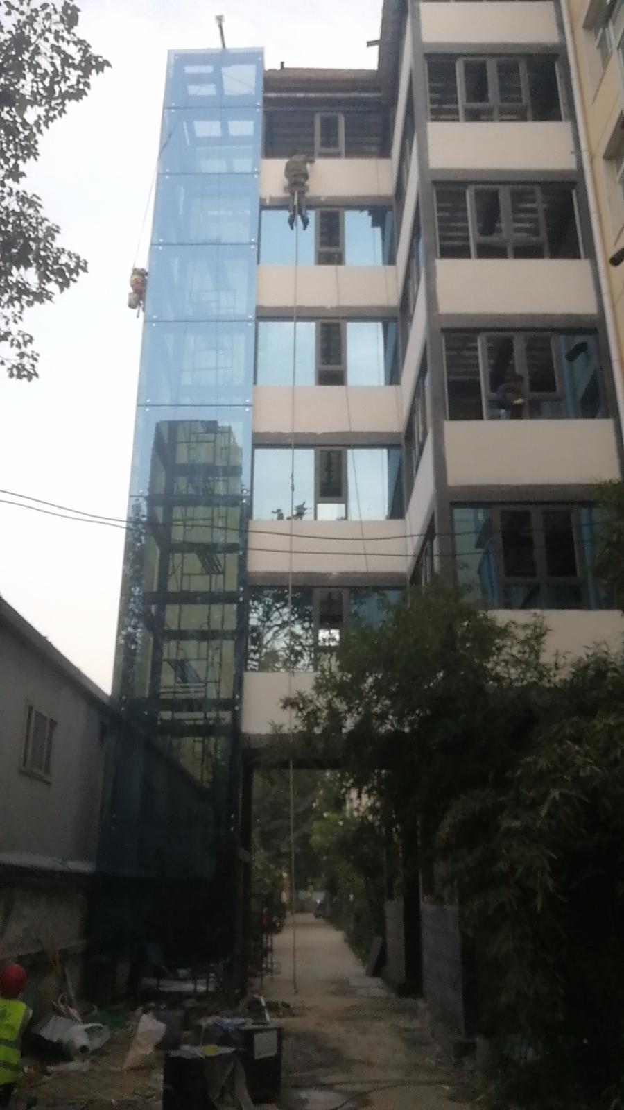 河南電梯井道鋼結構
