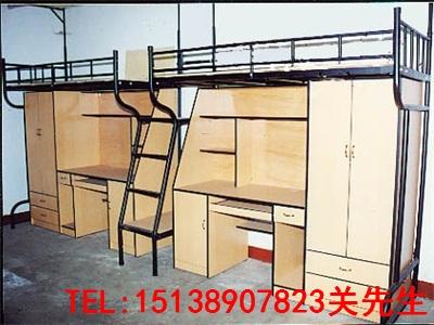 南阳钢木公寓床