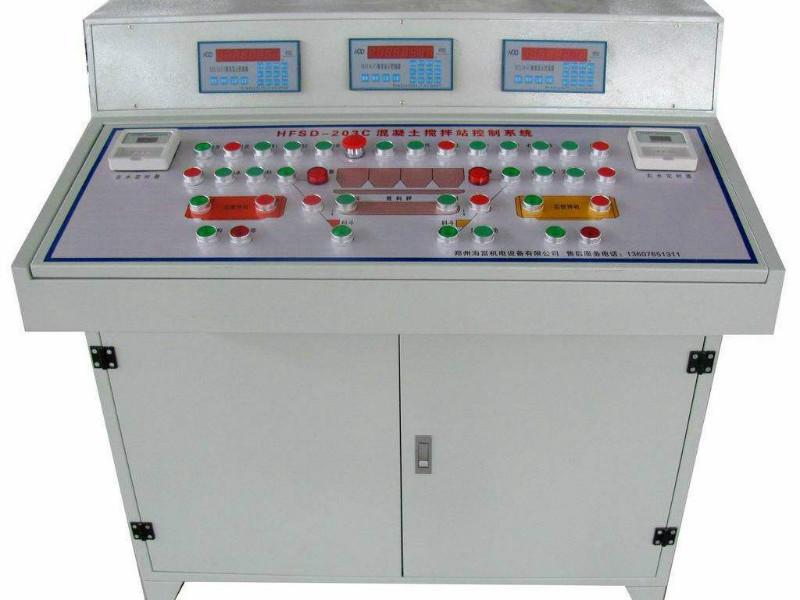 攪拌站電氣自動化升級
