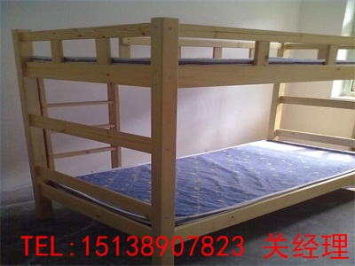许昌实木高低床