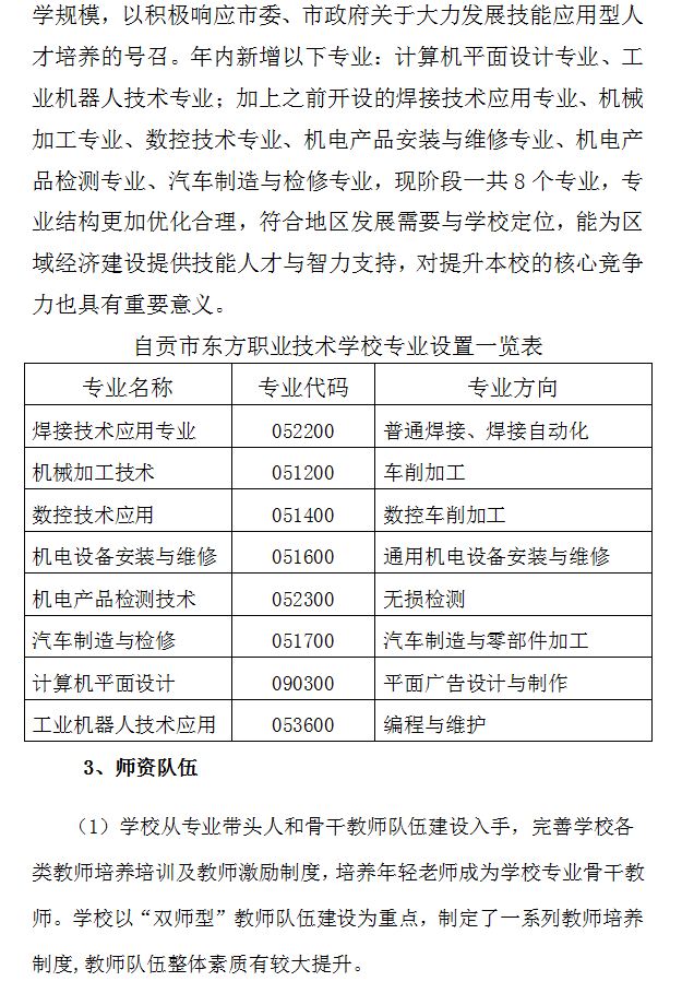 中等職業教育年度質量報告 (2019年)