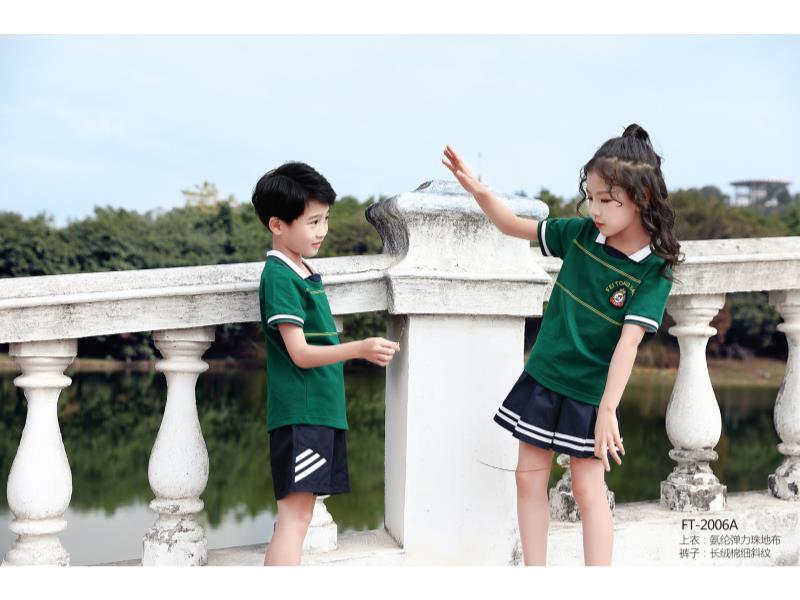 夏季运动款式校服