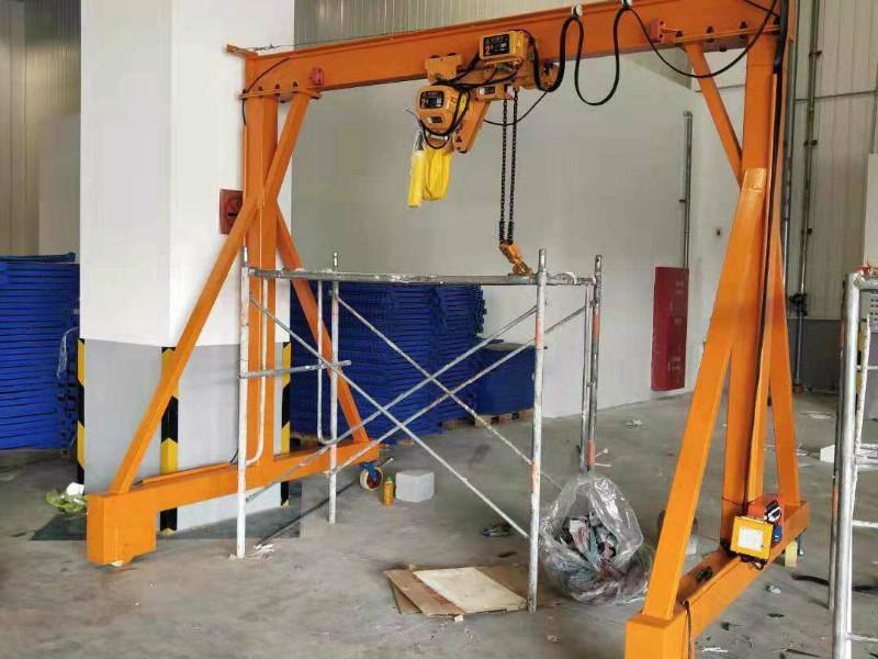 手动移动式悬臂吊