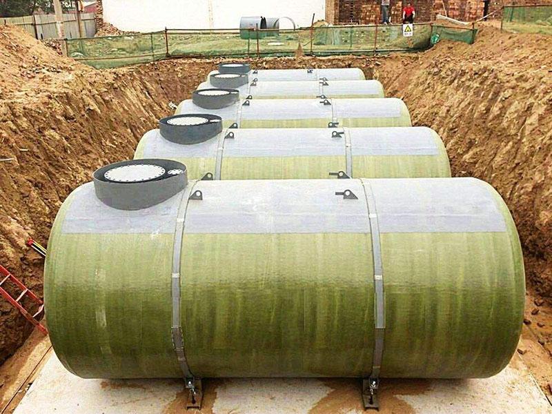 蘭州雙層地埋油罐